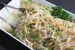 手作りサラダ